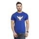 ILH -  Round Neck Royal Blue Tshirt