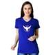 ILH -  Round Neck Women's Royal Blue Tshirt