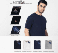 Swiss Military The Meteor Bio Washed 100% Cotton Jersey Crew Neck T-shirt
