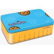CookieMan Cookie Blue Square Tin Large