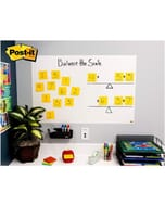 Post-it Dry Erase Whiteboard Removable White Film, 3Ft x 2Ft
