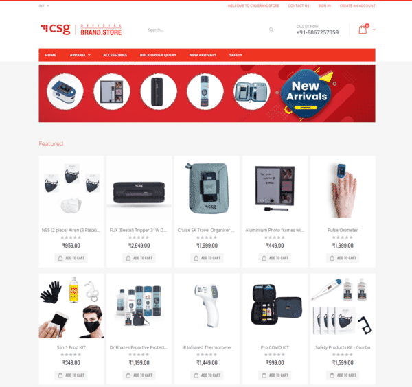 CSG BrandStore - Official BrandStore by OffiNeeds