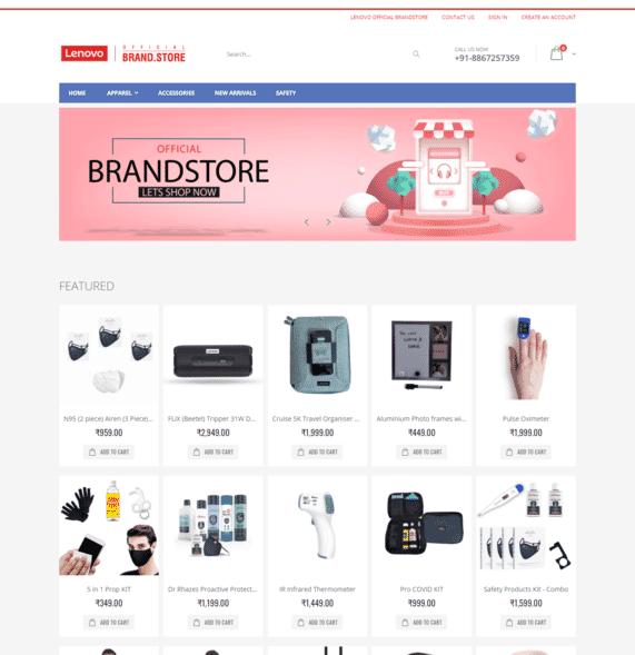 Lenovo BrandStore - Official BrandStore by OffiNeeds