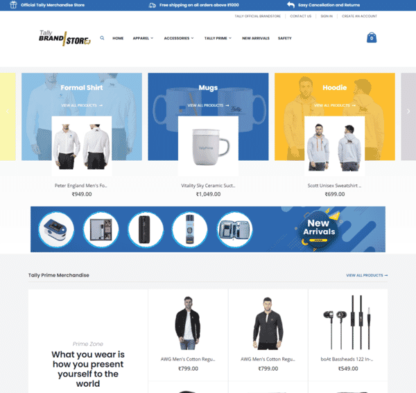 Tally BrandStore - Official BrandStore by OffiNeeds