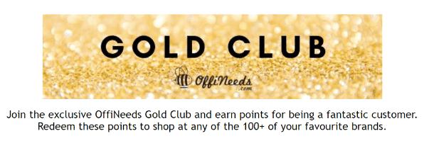 Gold Club Rewards program