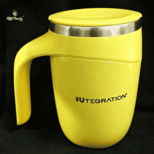 customized mugs for employees yellow colour