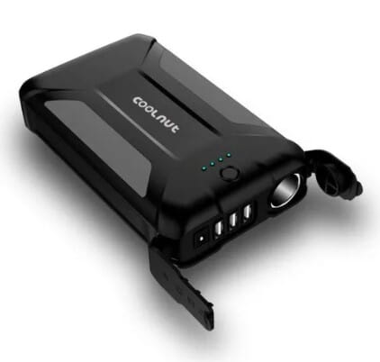 Coolnut 30000mAh Power Bank, Mini Inverter, Power Backup for All Laptops,Tablets,Smart Phones,WiFi Routers - Powerbanks for Corporate Gifting by OffiNeeds.com