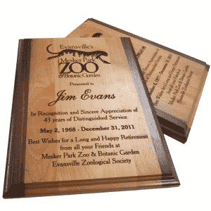 Engraving awards