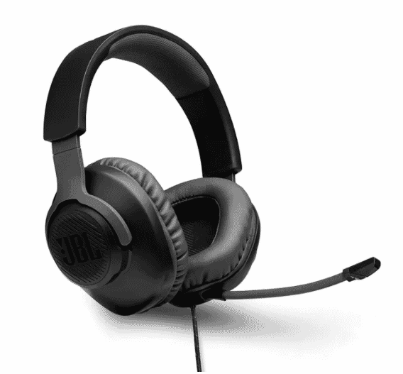 JBL Quantum 100 Wired Over-Ear Gaming Headset with Detachable Mic - Corporate Gifts by OffiNeeds.com