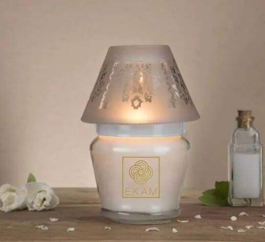 Lampshade Candle