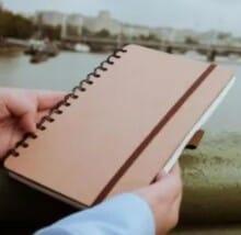 The Secretariat Eco-Friendly Cardboard Notebook